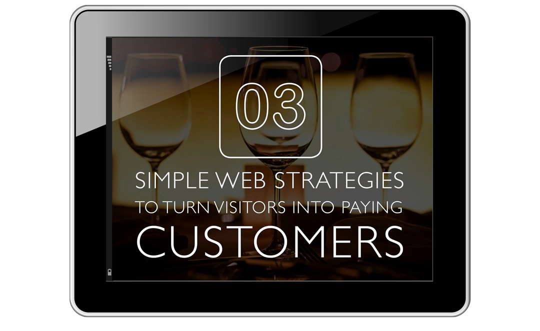 Tablet with web sales strategy cover image